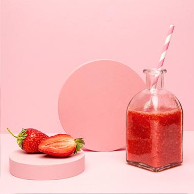 طرز تهیه اوتمیل توتفرنگی