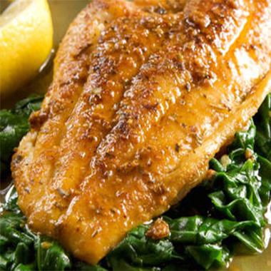 طرز تهیه ماهی تیلاپیا با پیاز کاراملی