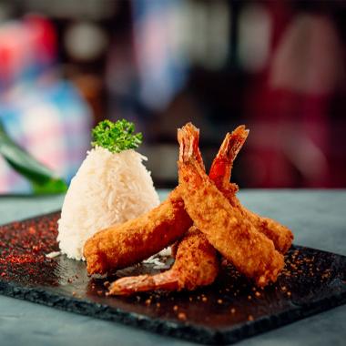 طرز تهیه میگو سوخاری به روش ژاپنی