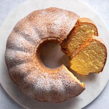 طرز تهیه کیک پرتقالی ساده و آسان