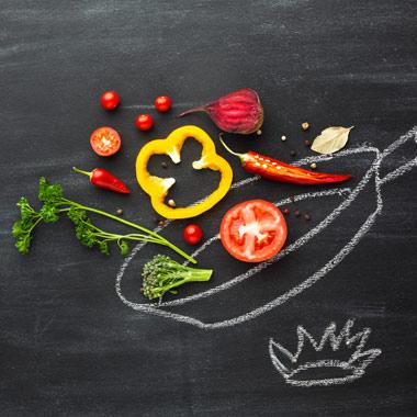 رژیم غذایی سالم برای لاغری و تناسب اندام