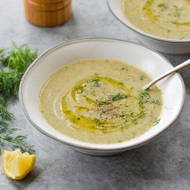طرز تهیه سوپ کدو سبز و گردو خوشمزه و مجلسی