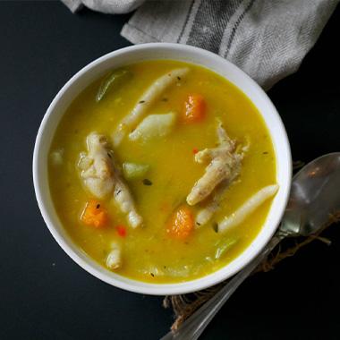 طرز تهیه سوپ پای مرغ خوشمزه با جو