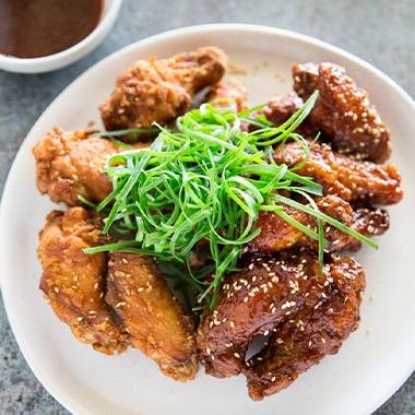 طرز تهیه مرغ سوخاری کره ای (مرغ تند کره ای)