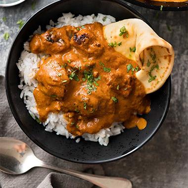 طرز تهیه چیکن تیکا ماسالا یک غذای هندی خوشمزه و پر ادویه