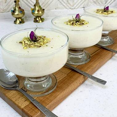 طرز تهیه شیر برنج خوشمزه و مجلسی برای افطار