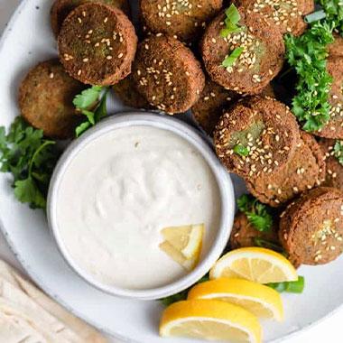 طرز تهیه فلافل لبنانی (فلافل عربی) ترد و خوشمزه