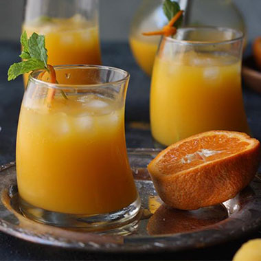 طرز تهیه موهیتو پرتقال یک نوشیدنی خنک تابستانی