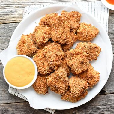طرز تهیه ناگت مرغ خانگی و خوشمزه به سالمترین روش