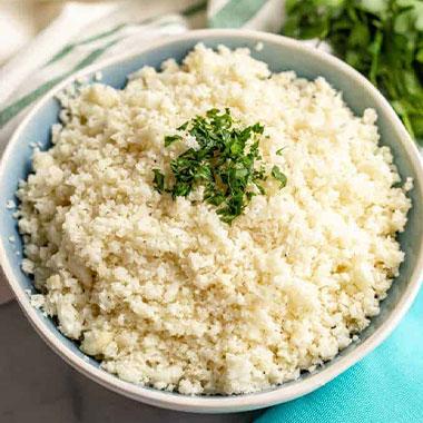 طرز تهیه برنج گل کلم برای رژیم کتوژنیک (پلو کتویی)