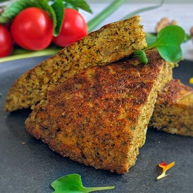 طرز تهیه کوکو گردو گیلانی بدون گوشت