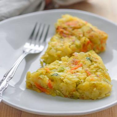 طرز تهیه کوکو کلم بدون تخم مرغ
