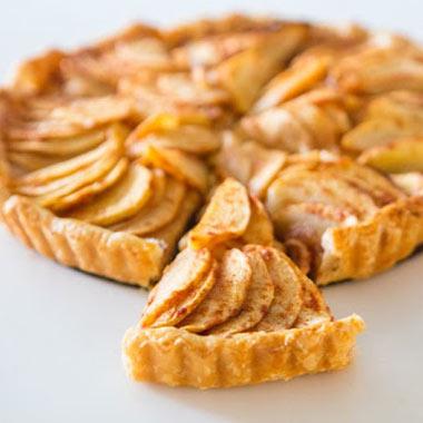تارت سیب و وانیل