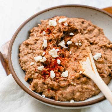 طرز تهیه خوراک لوبیا چیتی مکزیکی