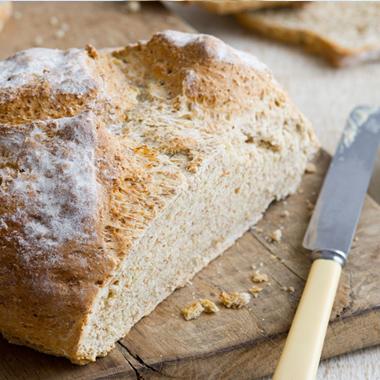 طرز تهیه نان خانگی به روش ایرلندی