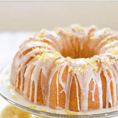 طرز تهیه کیک لیمویی با کرم لیمو
