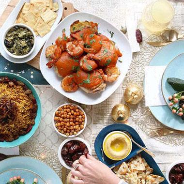 برای افطار چی بخوریم + معرفی ۷ غذا برای افطار