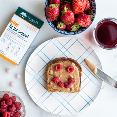 تقویت سیستم ایمنی کودکان با تغذیه سالم