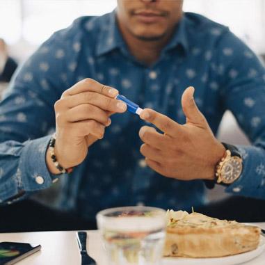 میان وعده و غذاهای مفید برای دیابت