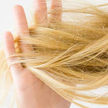 درمان خشکی مو در خانه