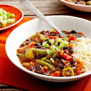 طرز تهیه خوراک سبزیجات اسپایسی