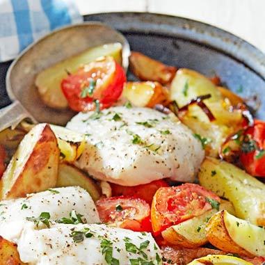 ماهی کبابی یونانی