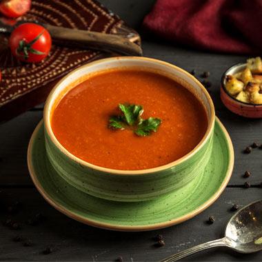 طرز تهیه سوپ گوجه فرنگی