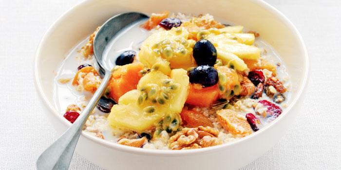 صبحانه ورزشکاران