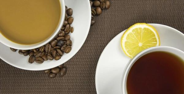 فواید چای و قهوه