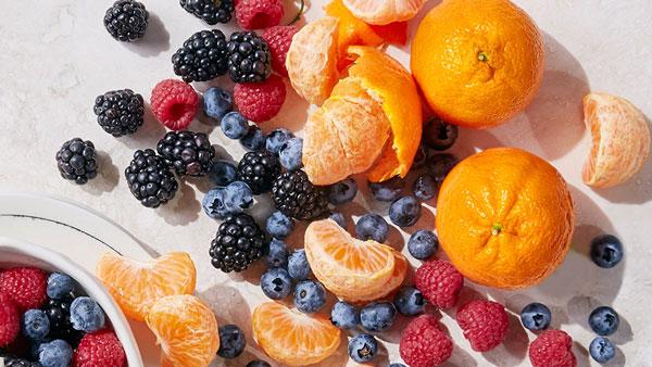 میوه غذای کم چرب
