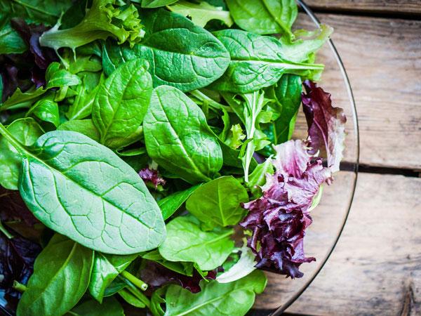 سبزیجات بهترین غذای کم چرب