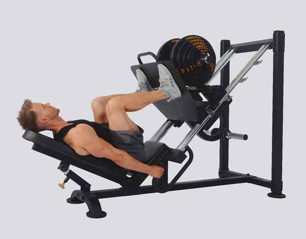 پرس پا برای تقویت زانو