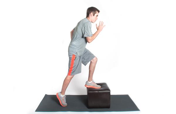 حرکت استِپ برای تقویت زانو