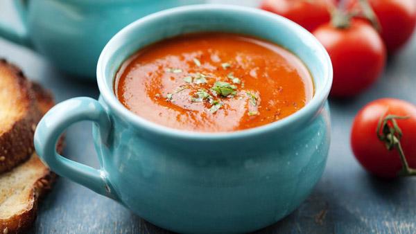 طرز تهیه سوپ گوجهفرنگی