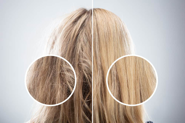 تاثیر نورهای فرابنقش بر موی سر