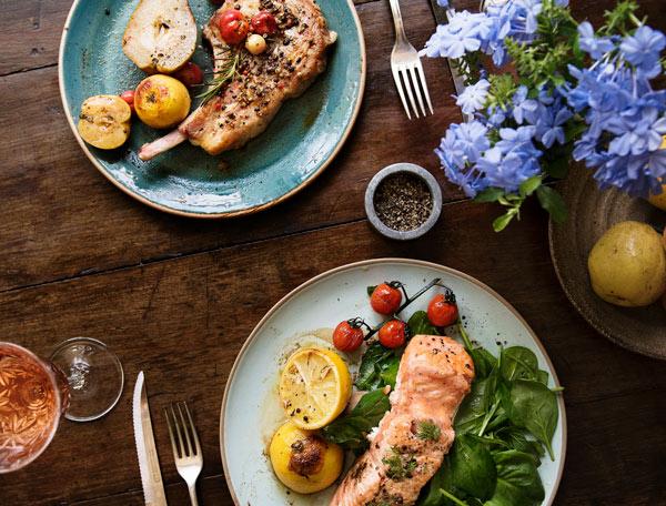 طرز تهیه ماهی سالمون با سس تارتار