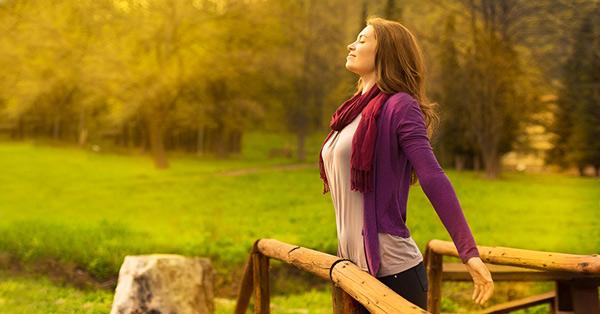تنفس عمیق برای تقویت ریه