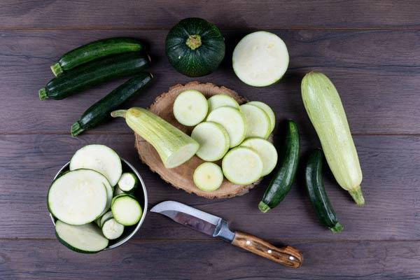 کدو سبز در رژیم غذایی