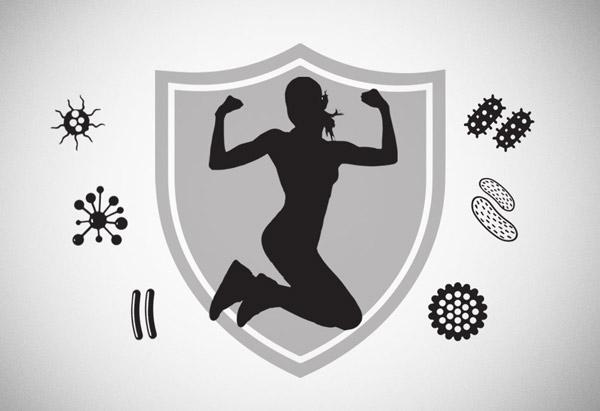 تقویت سیستم ایمنی بدن با ورزش