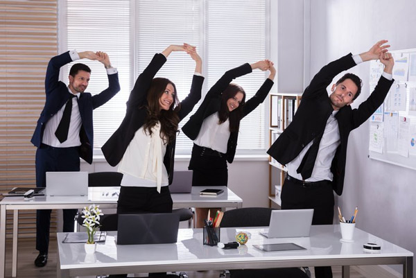 ورزش در محل کار