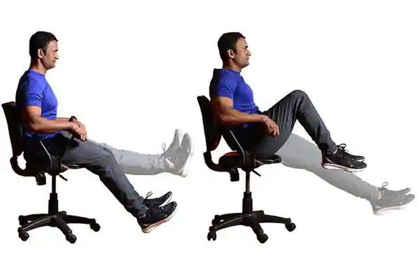 ورزش کردن در محل کار
