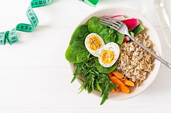 بایدهای رژیم غذایی سالم لاغری در وعدههای غذایی