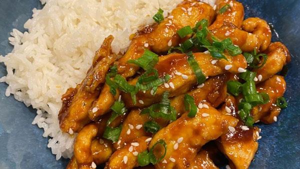 طرز تهیه فیله مرغ سوخاری تند و شیرین