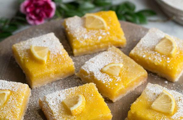 طرز تهیه دسر بار لیمویی