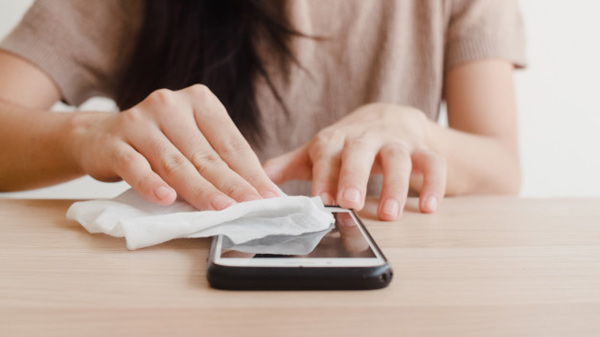 ضدعفونی کردن موبایل