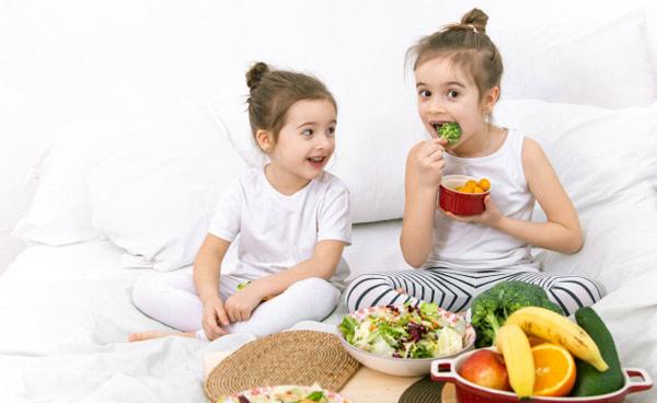 ضرورت رژیم غذایی سالم برای کودکان