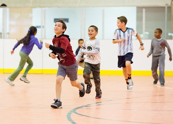ورزش در کودکان دبستانی