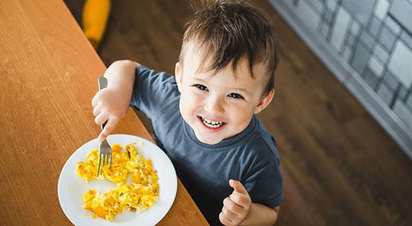 حجم غذای کودک