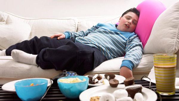 علل اضافه وزن در کودکان