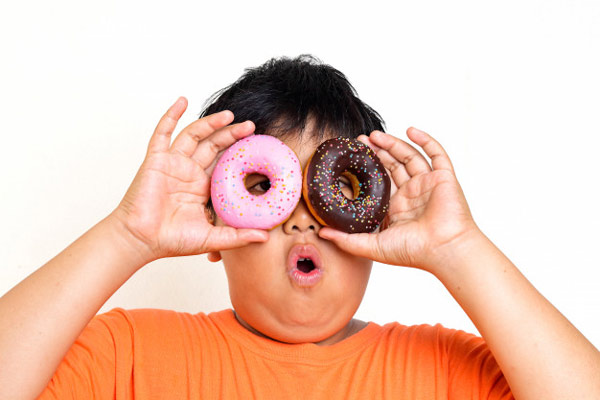 علل چاق شدن کودکان